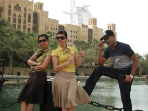 The Tri-Kada at Souk Madinat
